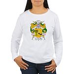 Carballo Family Crest  Women's Long Sleeve T-Shirt
