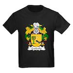 Carballo Family Crest  Kids Dark T-Shirt