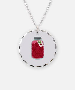 Pickled Beets Necklace