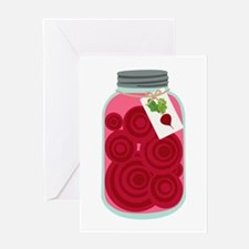 Pickled Beets Greeting Cards