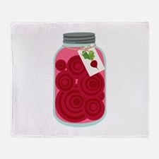 Pickled Beets Throw Blanket