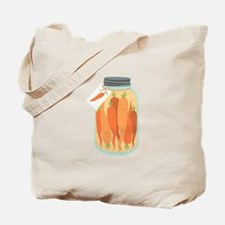 Pickled Carrots Tote Bag
