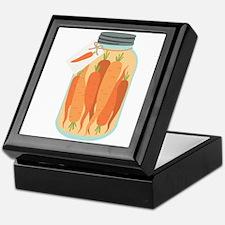 Pickled Carrots Keepsake Box