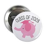 "2028 class elephant 2.25"" Button"