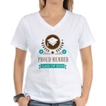 class of 2028 Women's V-Neck T-Shirt