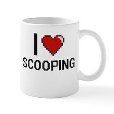 I Love Scooping Digital Design Mugs