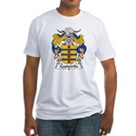 Capdevila Family Crest Fitted T-Shirt