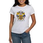 Capdevila Family Crest Women's T-Shirt