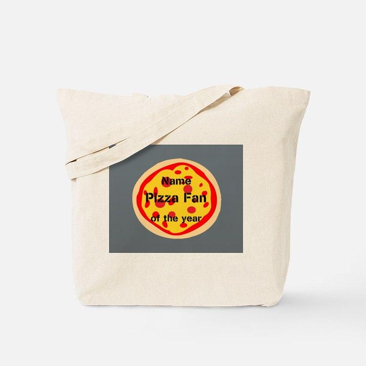 Funny Pizza Fan Tote Bag