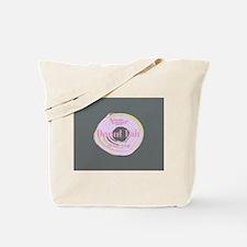 Funny Donut Fan Tote Bag