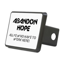 ABANDON HOPE - ALL YE WHO Hitch Cover