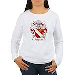 Caparros Family Crest Women's Long Sleeve T-Shirt