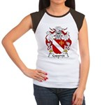 Caparros Family Crest Women's Cap Sleeve T-Shirt