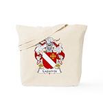 Caparros Family Crest Tote Bag