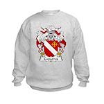 Caparros Family Crest Kids Sweatshirt