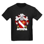 Caparros Family Crest Kids Dark T-Shirt