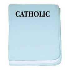 Catholic baby blanket