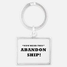 ABANDON SHIP Keychains