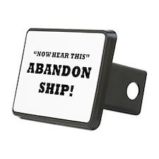 ABANDON SHIP Hitch Cover