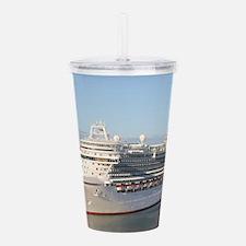 MS Azura Cruise Ship o Acrylic Double-wall Tumbler