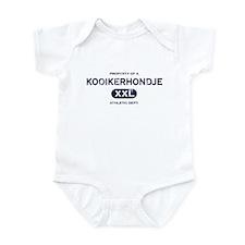 Property of Kooikerhondje Baby Bodysuit