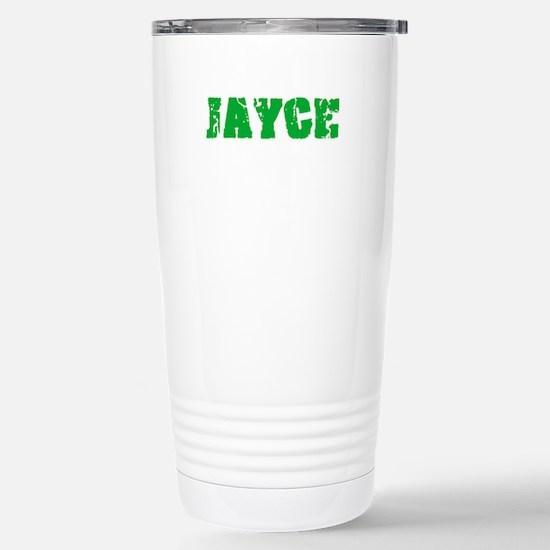 Jayce Name Weathered Green Design Mugs