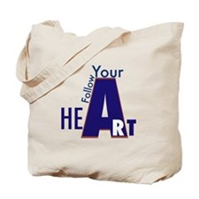 Follow Your Heart/art Tote Bag
