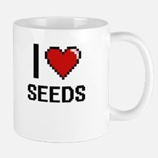 I Love Seeds Digital Design Mugs