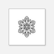"Mandala Square Sticker 3"" x 3"""