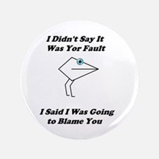 Blaming You- Mouth People Button