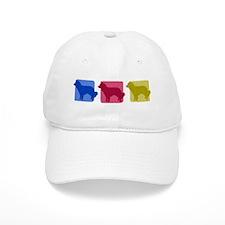 Color Row Kooikerhondje Baseball Cap