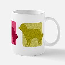Color Row Kooikerhondje Mug