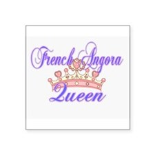 French Angora Queen Sticker
