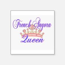 French Angora Queen Sticker