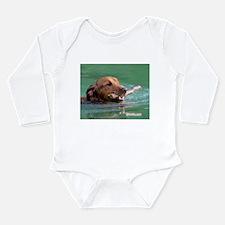 Happy Retriever Dog Body Suit