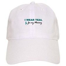 I Wear Teal For My Mommy 2 Baseball Cap