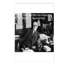 Freud And Cats Postcards (package Of 8)