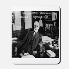 Freud And Cats Mousepad