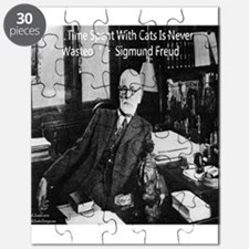Freud And Cats Puzzle