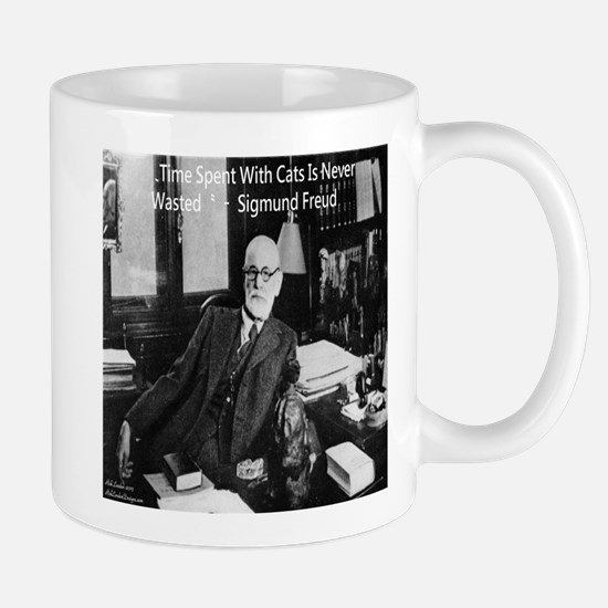 Freud And Cats Mugs