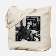 Freud And Cats Tote Bag