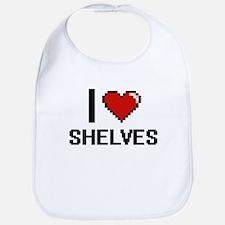 I Love Shelves Digital Design Bib