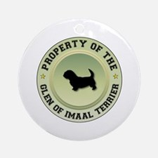 Glen Property Ornament (Round)