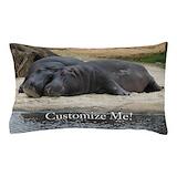 Hippo Pillow Cases