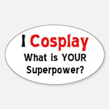 i cosplay Decal
