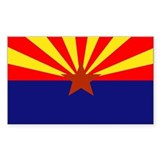 Arizona flag Single