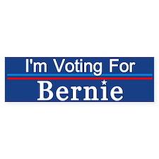 I'm Voting For Bernie Bumper Bumper Bumper Sticker