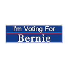 I'm Voting For Bernie Car Magnet 10 X 3