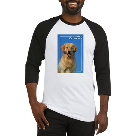 Golden Retriever-7 Baseball Jersey