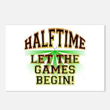 Halftime - Let The Games Begin Postcards (Package